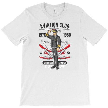 Aviation Club T-shirt Designed By Dhiart
