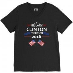 Hillary Clinton 2016 V-Neck Tee   Artistshot