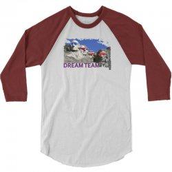 Mount Rushmore Dream Team 3/4 Sleeve Shirt | Artistshot