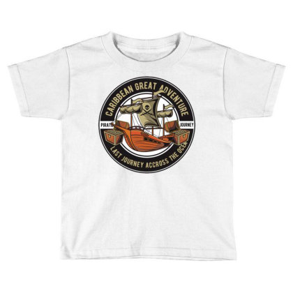 Caribbean Adventure Toddler T-shirt Designed By Dhiart