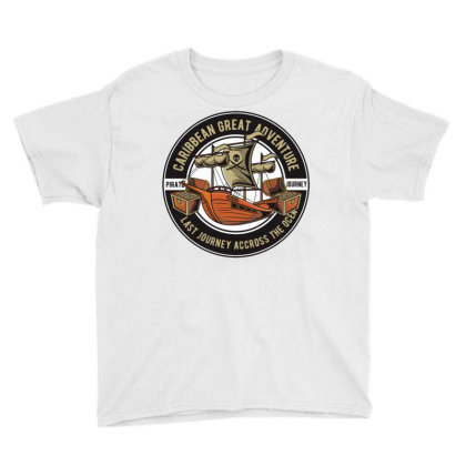 Caribbean Adventure Youth Tee Designed By Dhiart