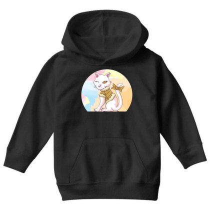 Cat Youth Girl Youth Hoodie