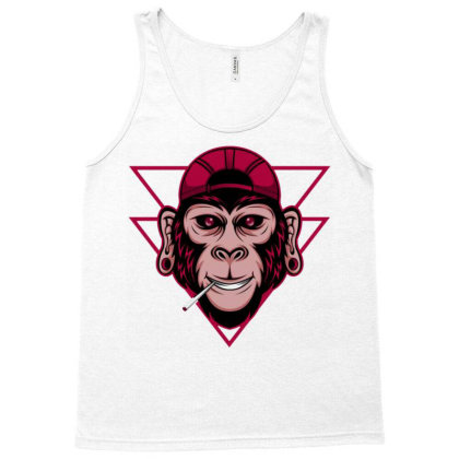 Chimpanzee Tank Top Designed By Dhiart