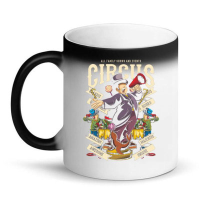 Circus Magic Mug Designed By Dhiart