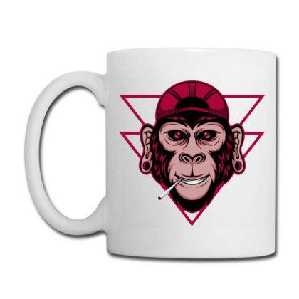 Chimpanzee Coffee Mug Designed By Dhiart