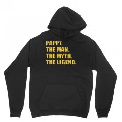 pappy the man the myth the legend gold etidion Unisex Hoodie | Artistshot