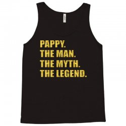 pappy the man the myth the legend gold etidion Tank Top | Artistshot