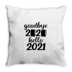 Good Bye 2020 Hello 2021 Throw Pillow Designed By Blackfire
