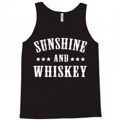 sunshine & whiskey Tank Top | Artistshot