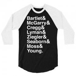 For America - bartlet and mcgarry 3/4 Sleeve Shirt   Artistshot