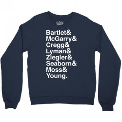 For America - bartlet and mcgarry Crewneck Sweatshirt   Artistshot