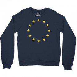 euro flag stars Crewneck Sweatshirt | Artistshot