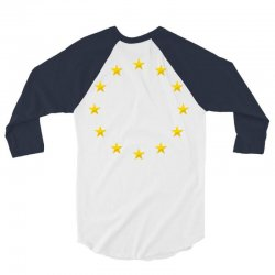 euro flag stars 3/4 Sleeve Shirt | Artistshot