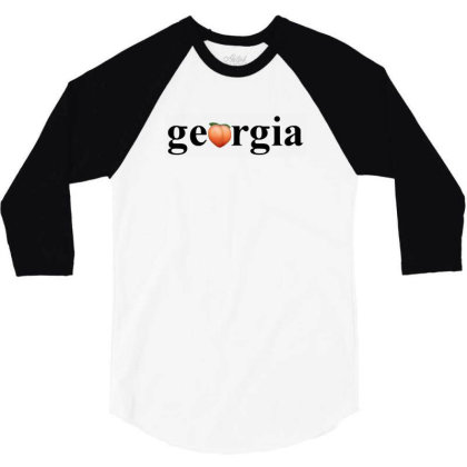 Democracy Peach 3/4 Sleeve Shirt Designed By Amsa