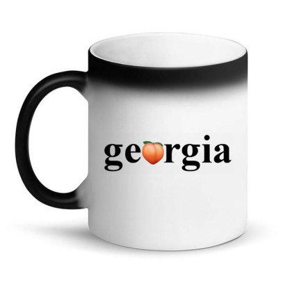 Democracy Peach Magic Mug Designed By Amsa