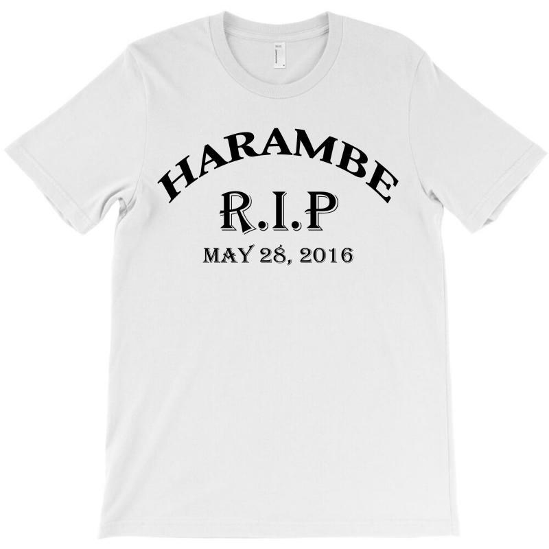 Harambe Rip May 28 2016 T-shirt | Artistshot