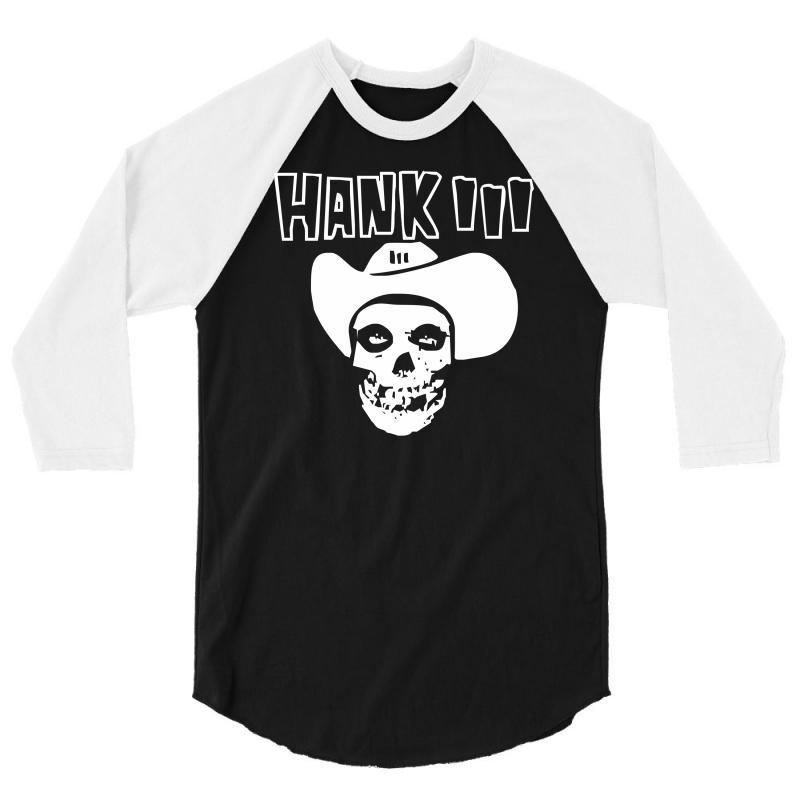 Hank Iii 3/4 Sleeve Shirt | Artistshot