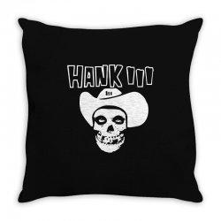 hank iii Throw Pillow | Artistshot