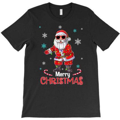 Funny Santa Floss Merry Christmas Xmas Flossing T-shirt Designed By Mrt90