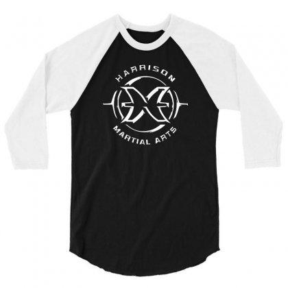 Harrison 3/4 Sleeve Shirt Designed By Henz Art