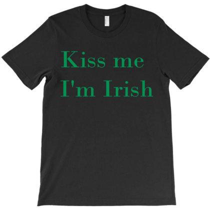 Kiss Me I'm Irish T-shirt Designed By Suryanaagus068