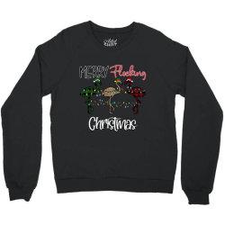 Merry Flocking Christmas Crewneck Sweatshirt Designed By Bettercallsaul