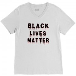 Black Lives Matter V-Neck Tee | Artistshot