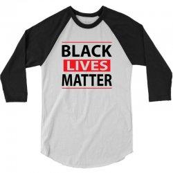 Black Lives Mastter 3/4 Sleeve Shirt | Artistshot