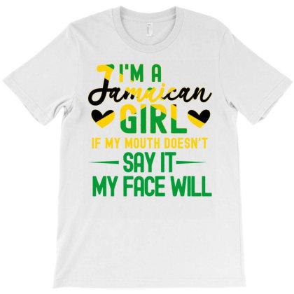 Jamaica Girls T-shirt Designed By Cogentprint
