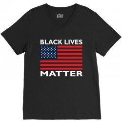 Black Lives Mastter V-Neck Tee   Artistshot