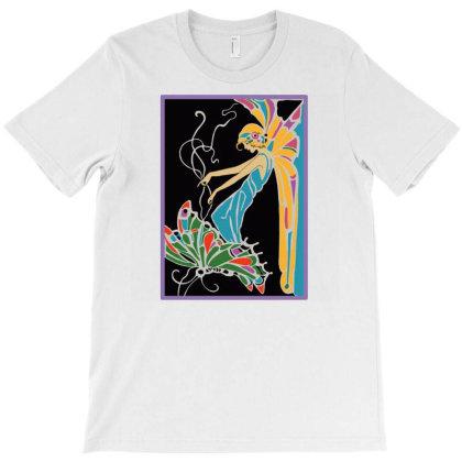 Butterfly Girl 1 T-shirt Designed By Jameszestrada