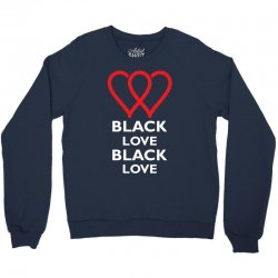 Black Love Crewneck Sweatshirt | Artistshot