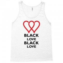 Black Love Tank Top   Artistshot