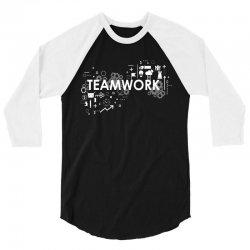 TEAM WORK 3/4 Sleeve Shirt   Artistshot