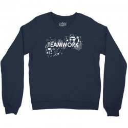 TEAM WORK Crewneck Sweatshirt   Artistshot
