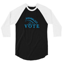 blue nami 2020 politics 3/4 Sleeve Shirt | Artistshot