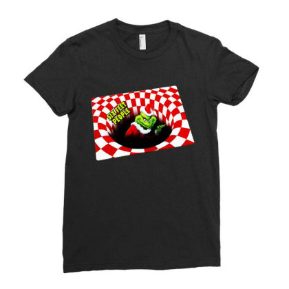 Illusion  Christmas Gift Xmas Holiday 2020 Ladies Fitted T-shirt Designed By Romeo And Juliet