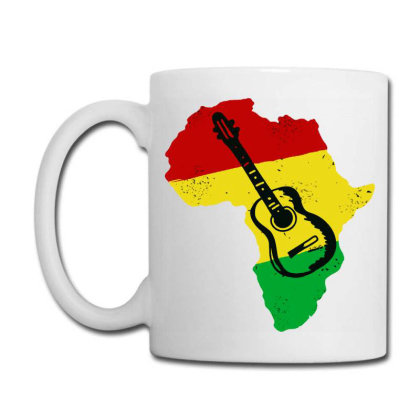 Africa Reggae Guitar Coffee Mug Designed By Swan Tees