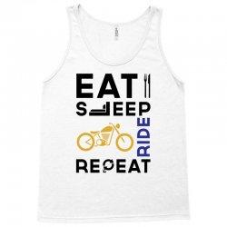 Ride Eat Sleep Repeat Moto Motard Adulte T Shirt