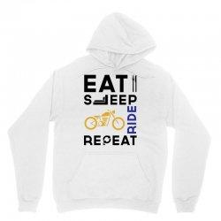 Eat Sleep Ride Repeat Unisex Hoodie   Artistshot