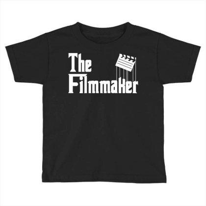 The Filmmaker Toddler T-shirt Designed By Fahmifutri