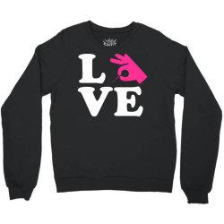 love Crewneck Sweatshirt | Artistshot