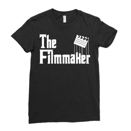 The Filmmaker Ladies Fitted T-shirt Designed By Fahmifutri