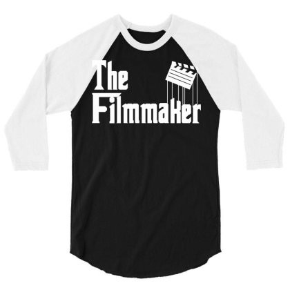 The Filmmaker 3/4 Sleeve Shirt Designed By Fahmifutri