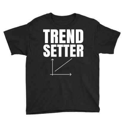 Trend Setter Youth Tee Designed By Fahmifutri