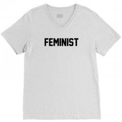 Feminist V-Neck Tee | Artistshot