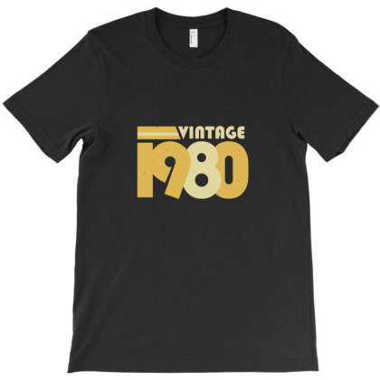 Vintage 1980 T-shirt Designed By Yusrizal_