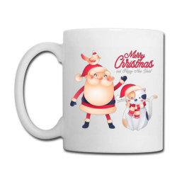 Santa Claws Cat Christmas - Meow Christmas Coffee Mug Designed By Angelveronica