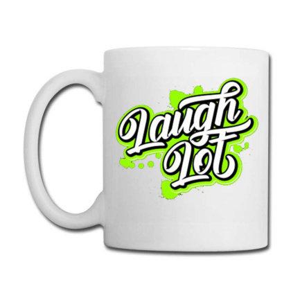 Laugh Lot Coffee Mug Designed By Dhiart