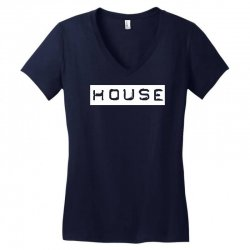house club,dance,music,vinyl,rave,dj,cool,funny Women's V-Neck T-Shirt   Artistshot